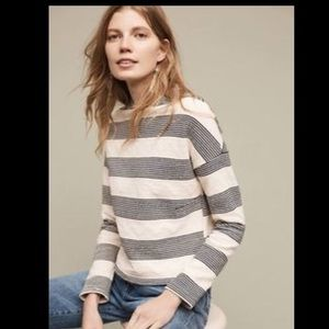 Anthropologie Eri + Ali striped sweater